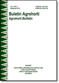 Vol 6, No 3 (2018): Buletin Agrohorti